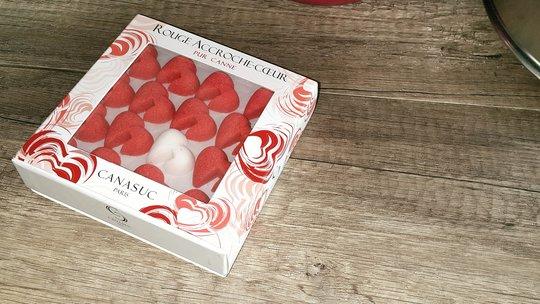 Boite de Canasuc en forme de coeur