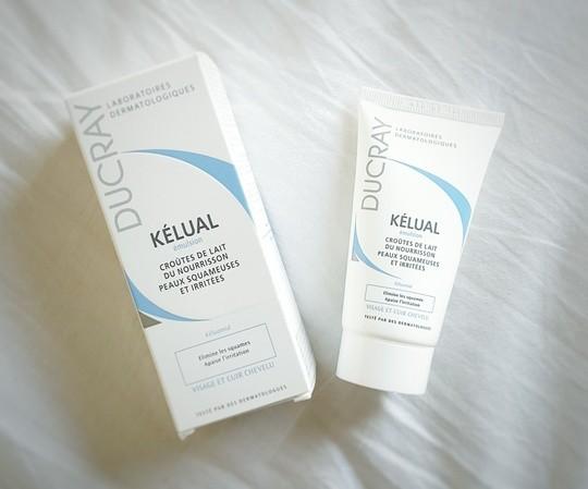 Creme Kelual de Ducray pour les peaux irritees de nos petits