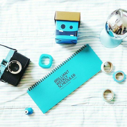 Un weekly planner pour m'aider dans mon blogging
