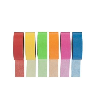 Des whasi tape de hema de couleurs vives