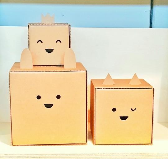 Des petites boites de rangement par Flatout Frankie