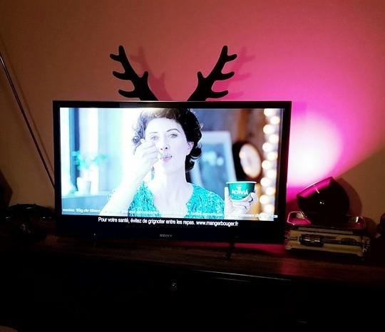 Les bois de cerfs Rabito decode bien la tete des gens dans la TV aussi.